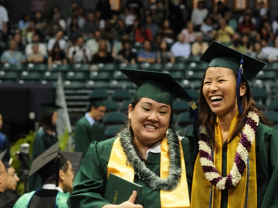 Graduate from the University of Hawaii at Manoa with a Liberal Arts Degree (image)