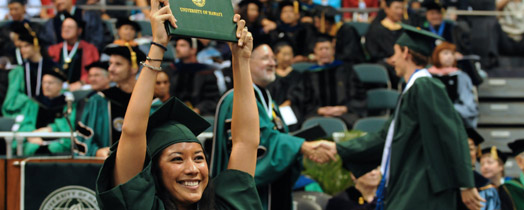graduation at university of hawaii manoa