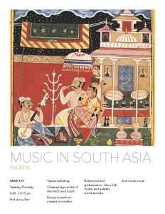 Music in South Asia Flyer 2016