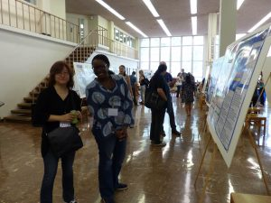 Attendees of the 2017 Poster Exhibit