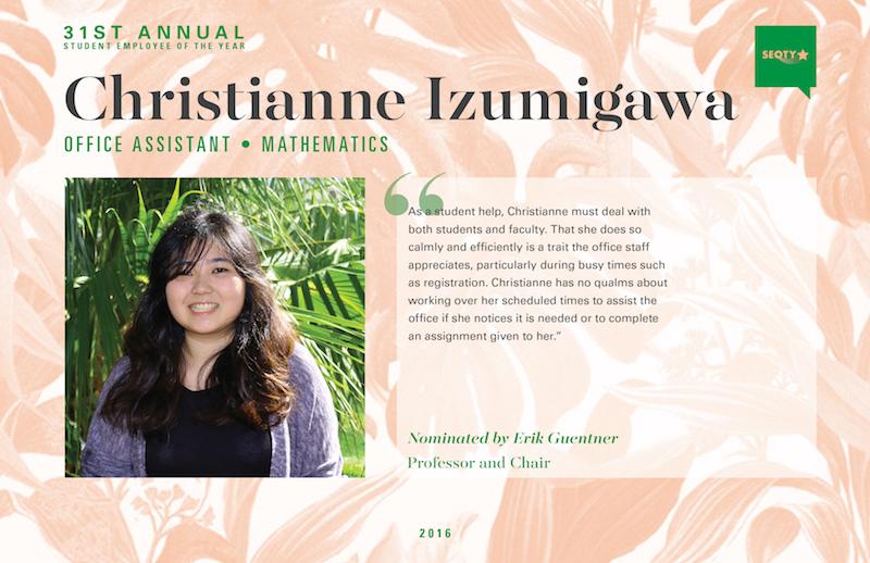 Christianne Izumigawa