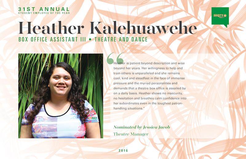 Heather Kalehuawehe