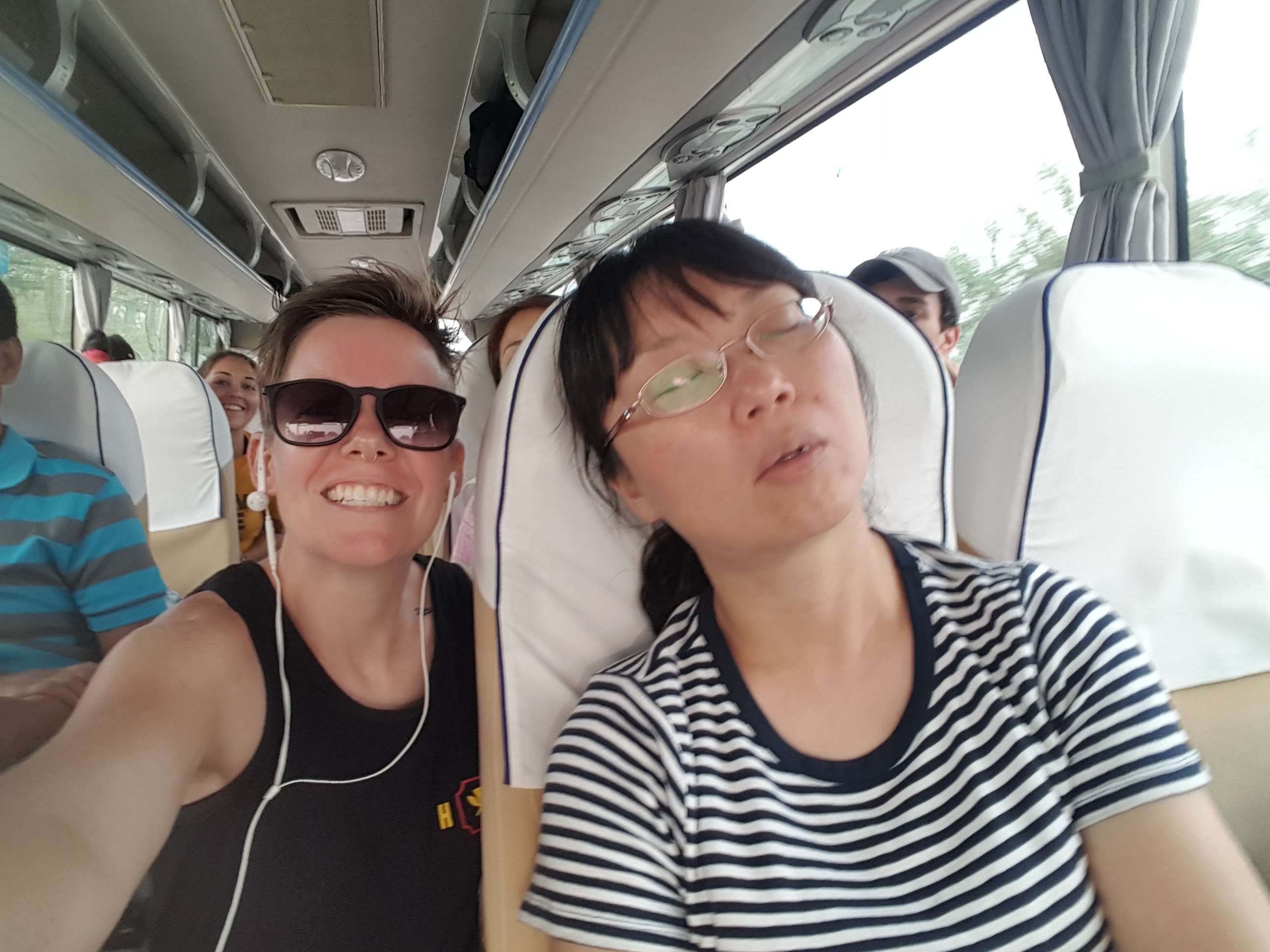 Blog: In China, finally
