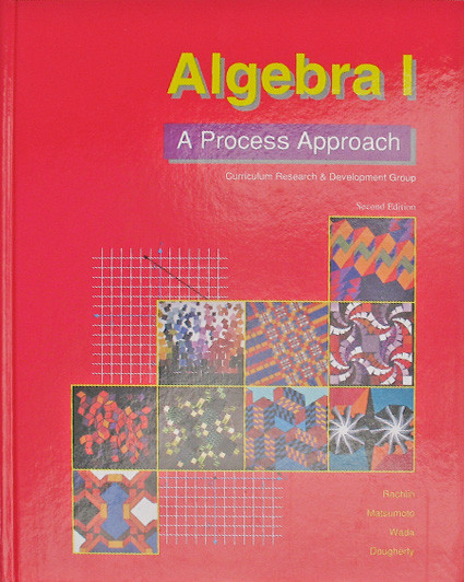 Algebra I: A Process Approach