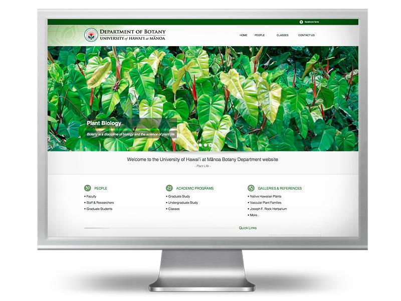 UHM Botany website