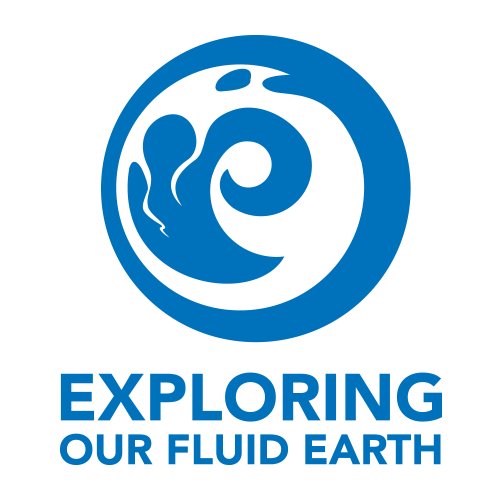 exploring our fluid earth logo