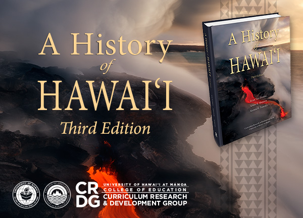 history of hawaii book graphic