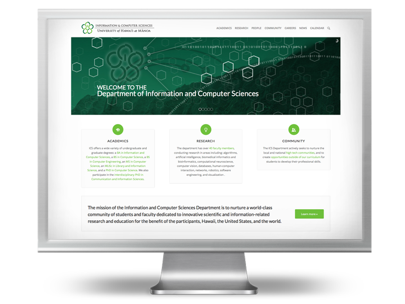 UHM Information and Computer Sciences website