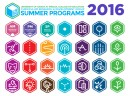 summer programs graphic icons