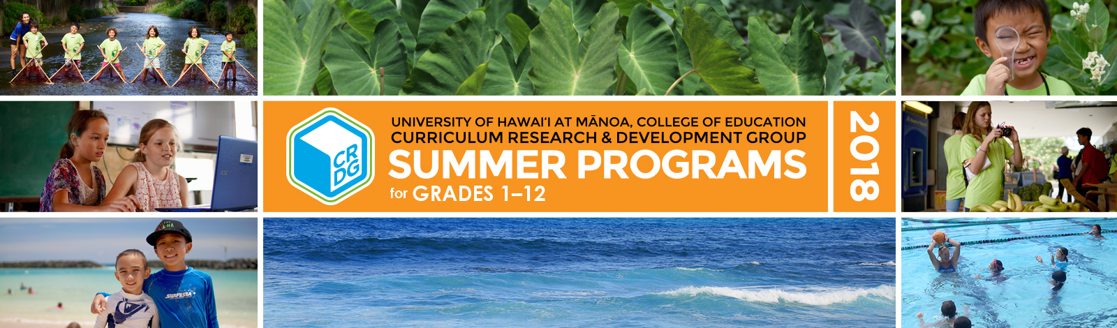 summer programs header graphic