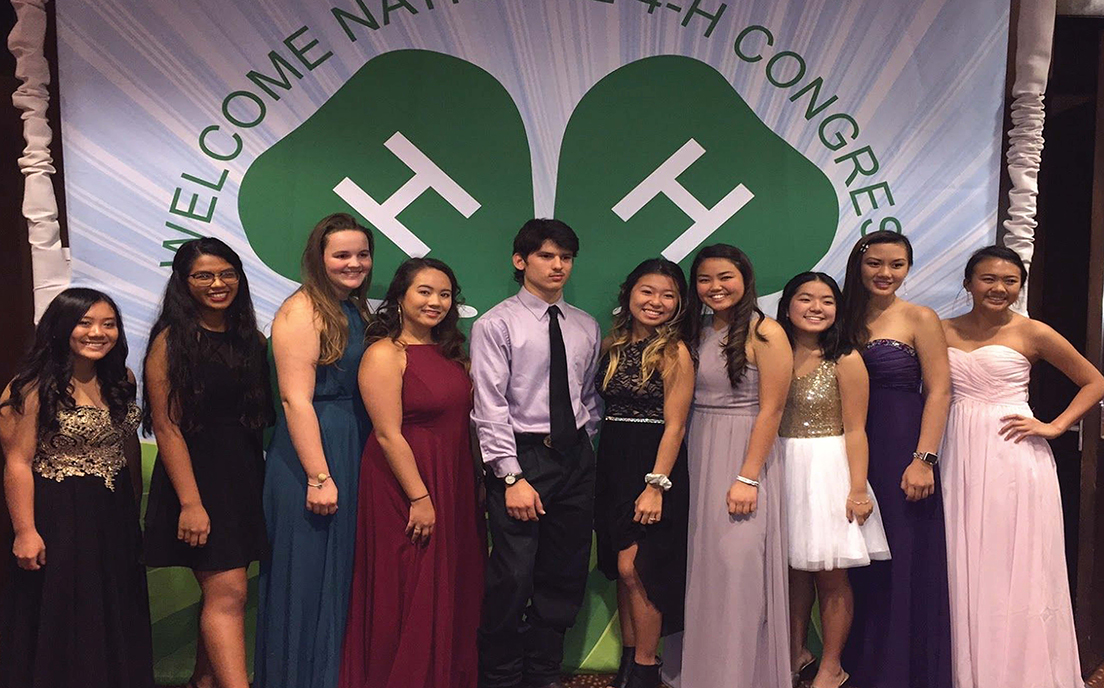 2017 4-H National Congress Hawaii Delegates