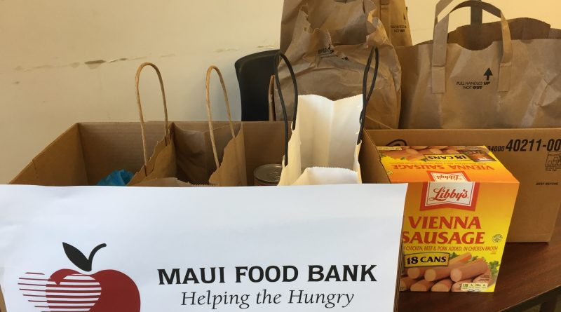 Food Collection for Maui Food Bank
