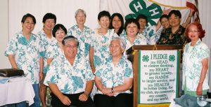 Hawaii 4-H Alumni Organization Members