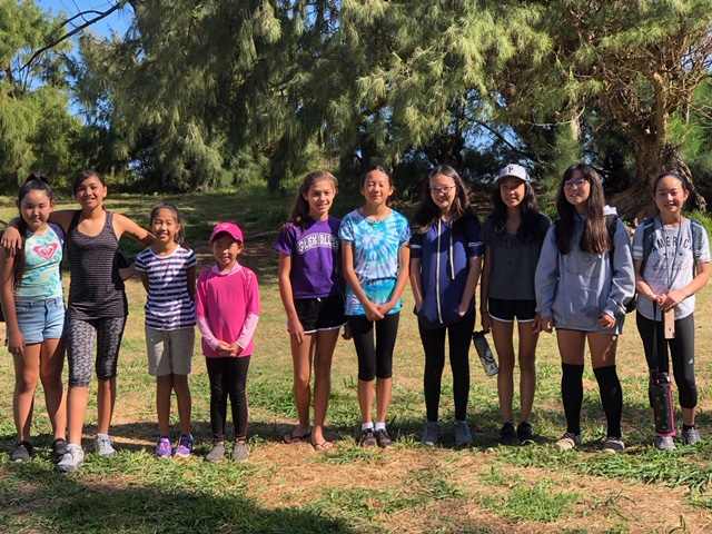 The Wolves Club at the Waihee Wetlands