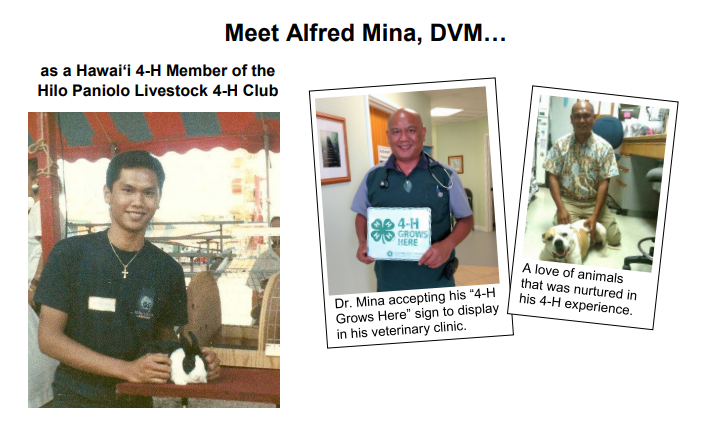 Dr. Alfred Mina - 4-H Success Story