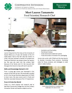 Dr. Lauren Tamamoto Success Story