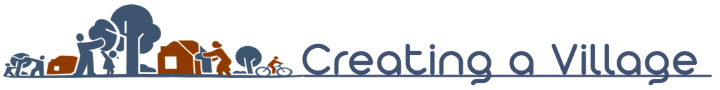 Creating a Village Horizontal Logo with Name on Bottom