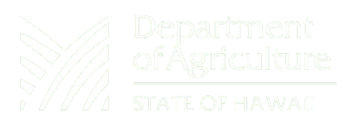 Department of Agriculture State of Hawaii
