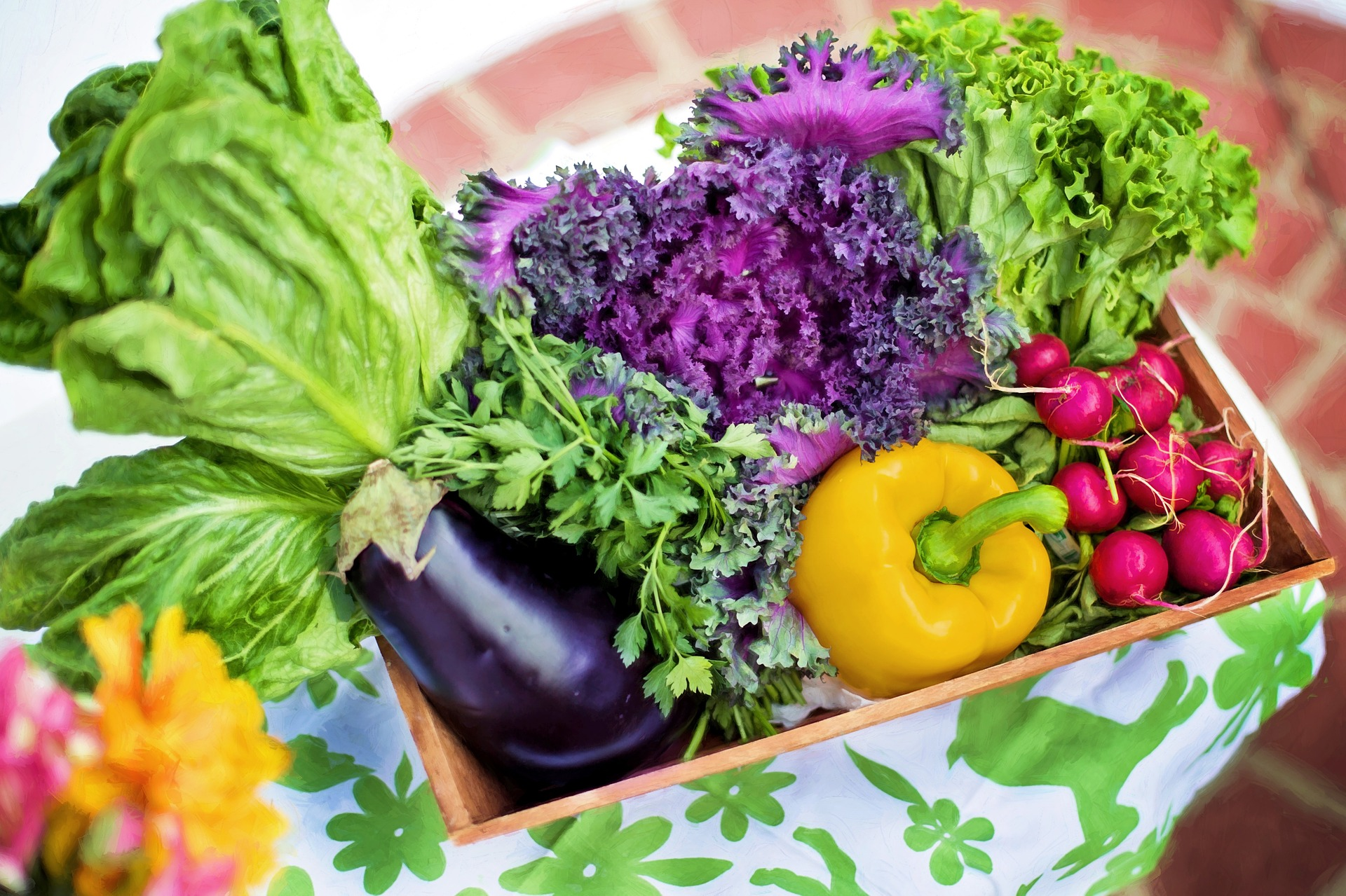 Vegetables in Container