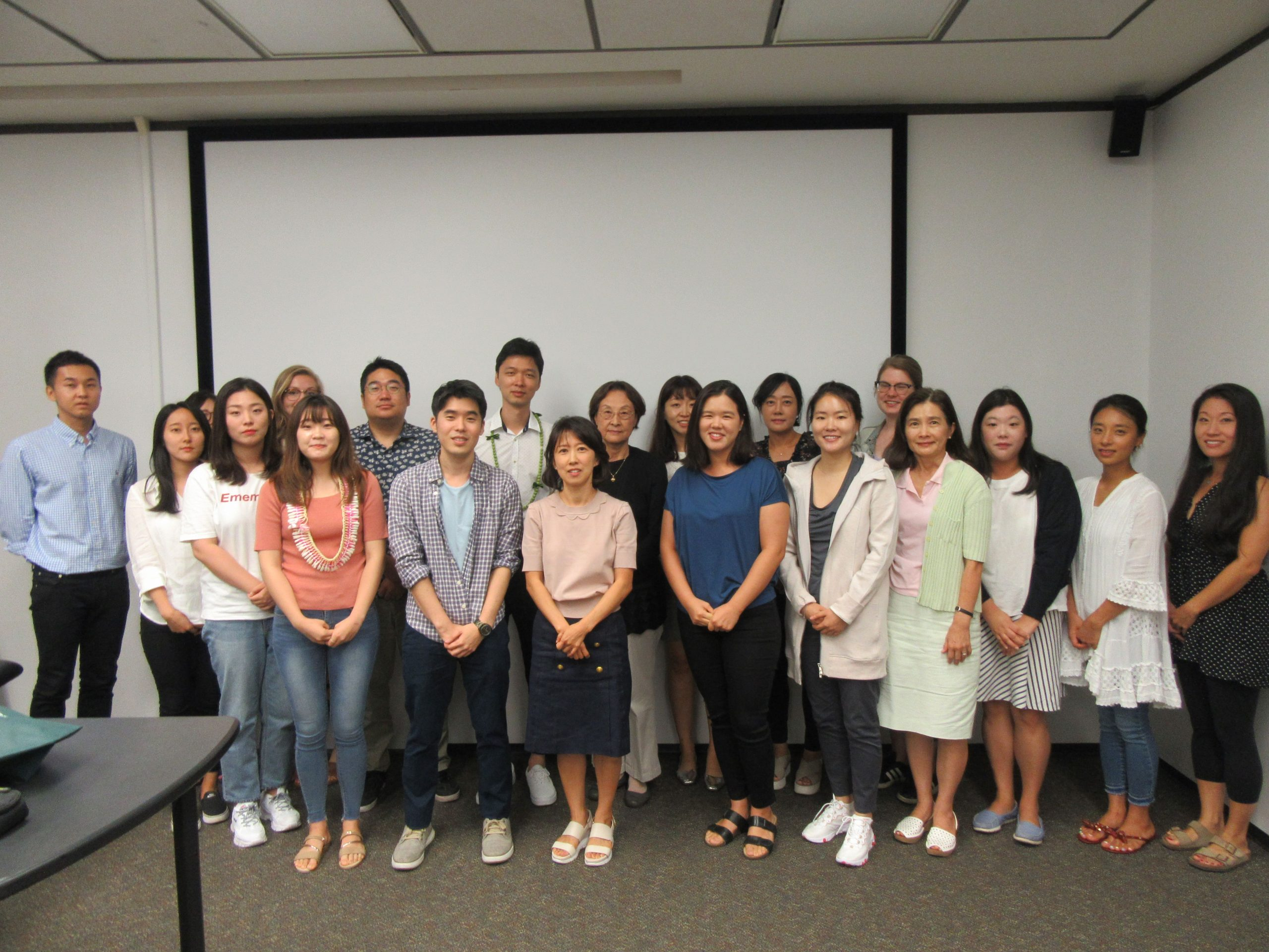 Korean Faculty and Graduate Students