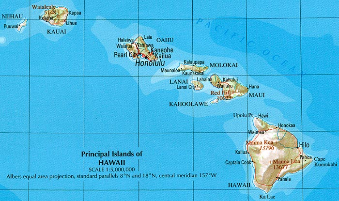 <p><strong>SF Fig. 1.3.</strong> (<strong>E</strong>)&nbsp;Modern map of Hawai&lsquo;i, a portion of &ldquo;The National Atlas of the United States of America. General Reference&rdquo;, compiled by the US Geological Survey 2001, printed 2002</p>