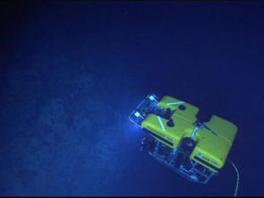 <p><strong>Fig. 9.32.</strong> The ROV <em>Hercules</em> is designed to withstand high pressure and low temperatures found in the ocean depths.</p><br />