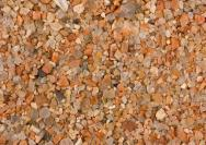 <p>Image caption: Swedish sand sample composed of feldspar (yellow and pink grains) and quartz (clear grains). Width of view is 20 mm.</p><br />