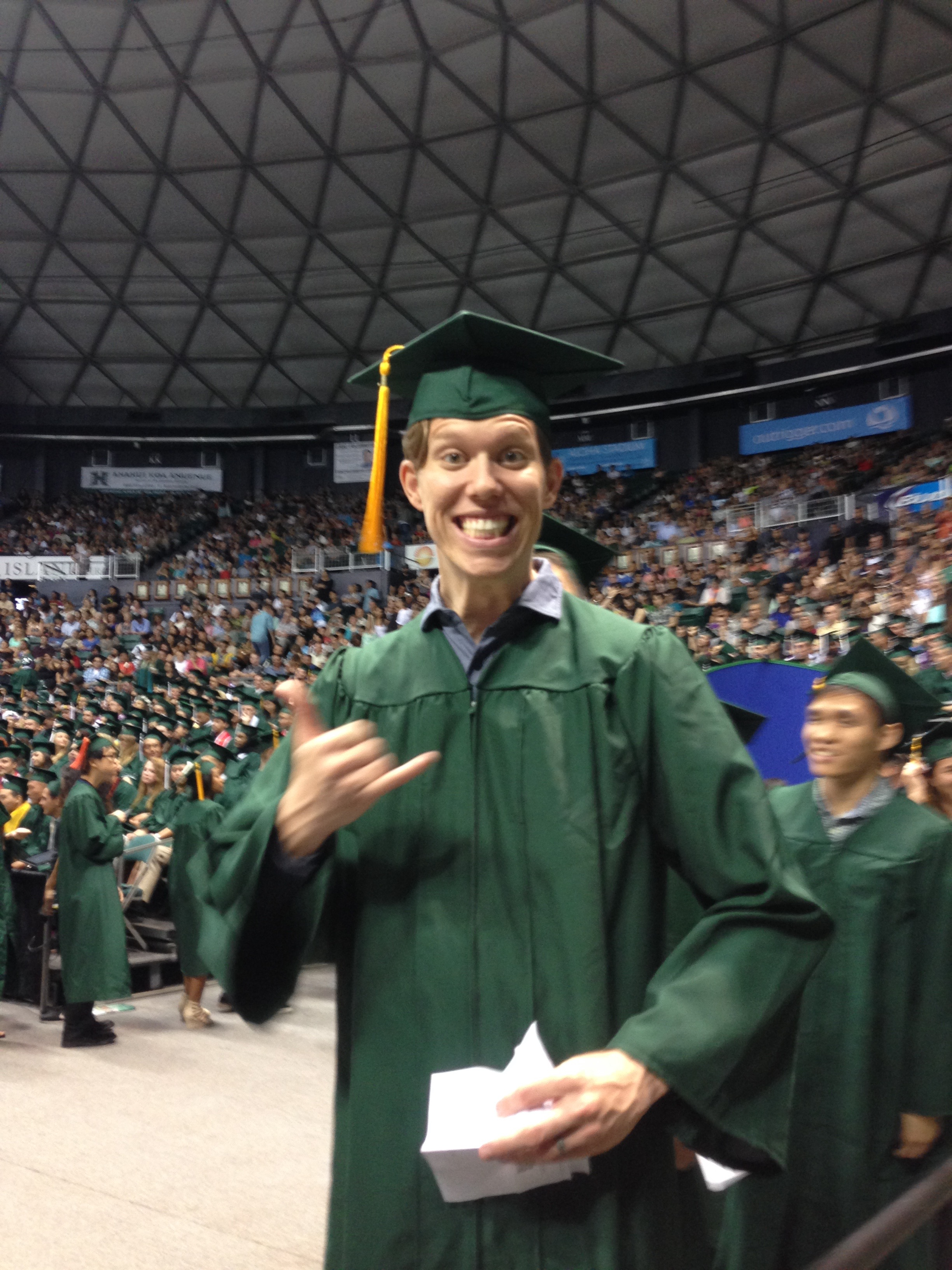 Joshua Weldon, B.S. in Information and Computer Sciences
