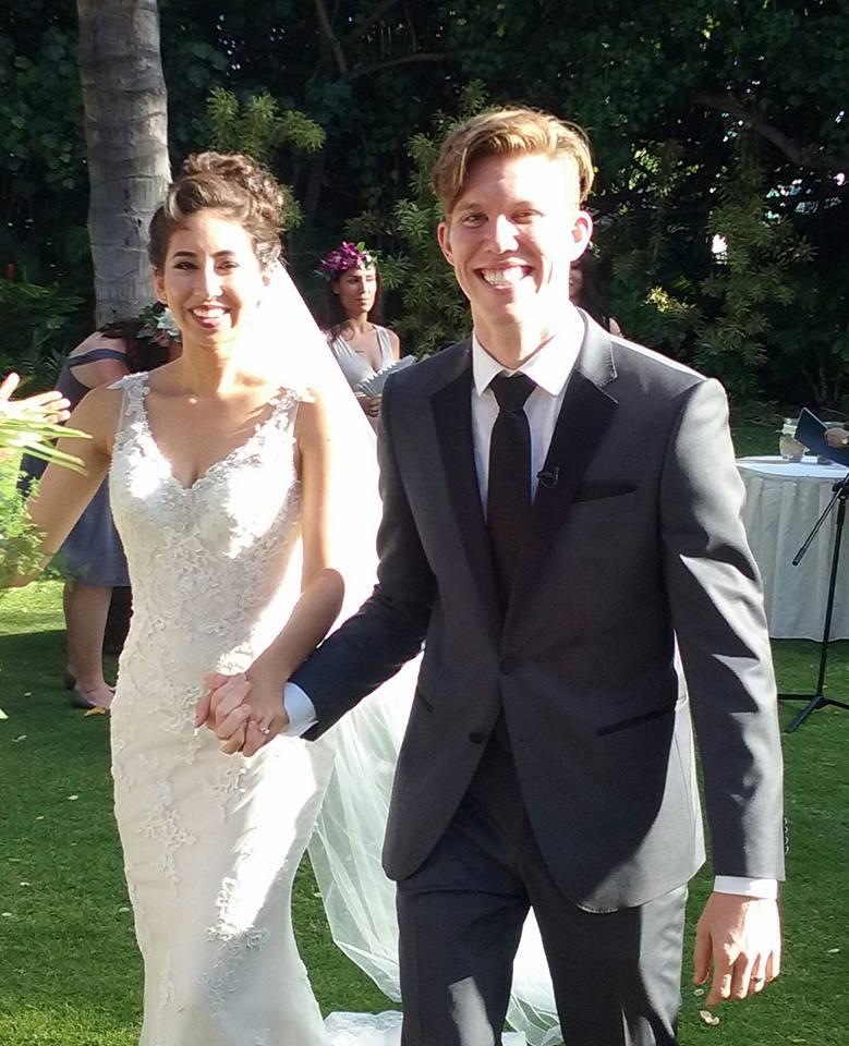 Joshua Weldon and Jessica Ciufo