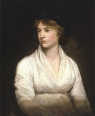 Mary Wollstonecraft by John Opie with link to image source