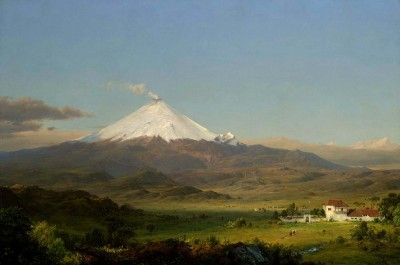 Cotopaxi by Frederic Edwin Church with link to image source