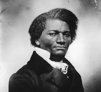Frederick Douglass with link to image source
