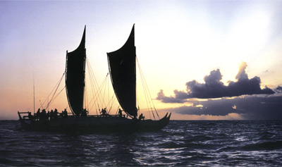 Hōkūleʻa by Monte Costa