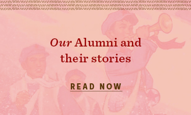 Our alumni and their stories - read now