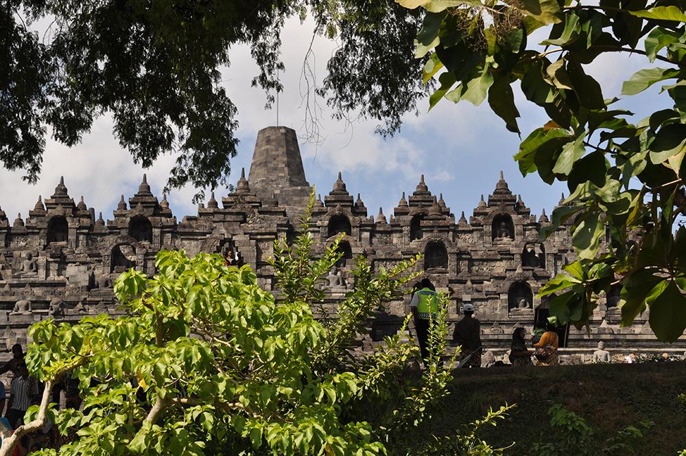 Borobudur and Javanese temple