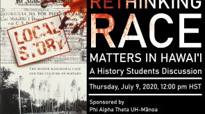 Racism in Hawaii flyer