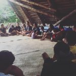During our Lā Manaleo workshop we were able to incorporate the raising of an ʻohana in ʻŌlelo Hawaiʻi