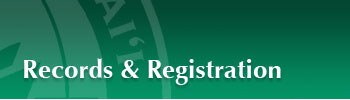 Records & Registration
