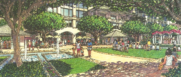 Rendering of Kapolei