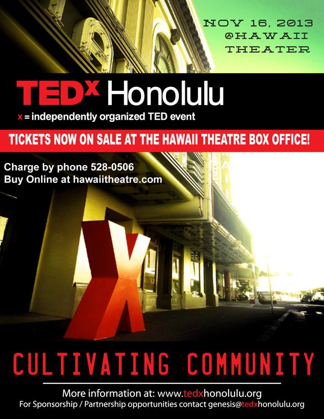 TEDxHonolulu Flyer