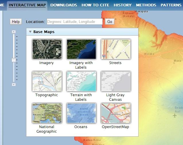 Evapotranspiration Site Maps Key Hawaii Climate Factors