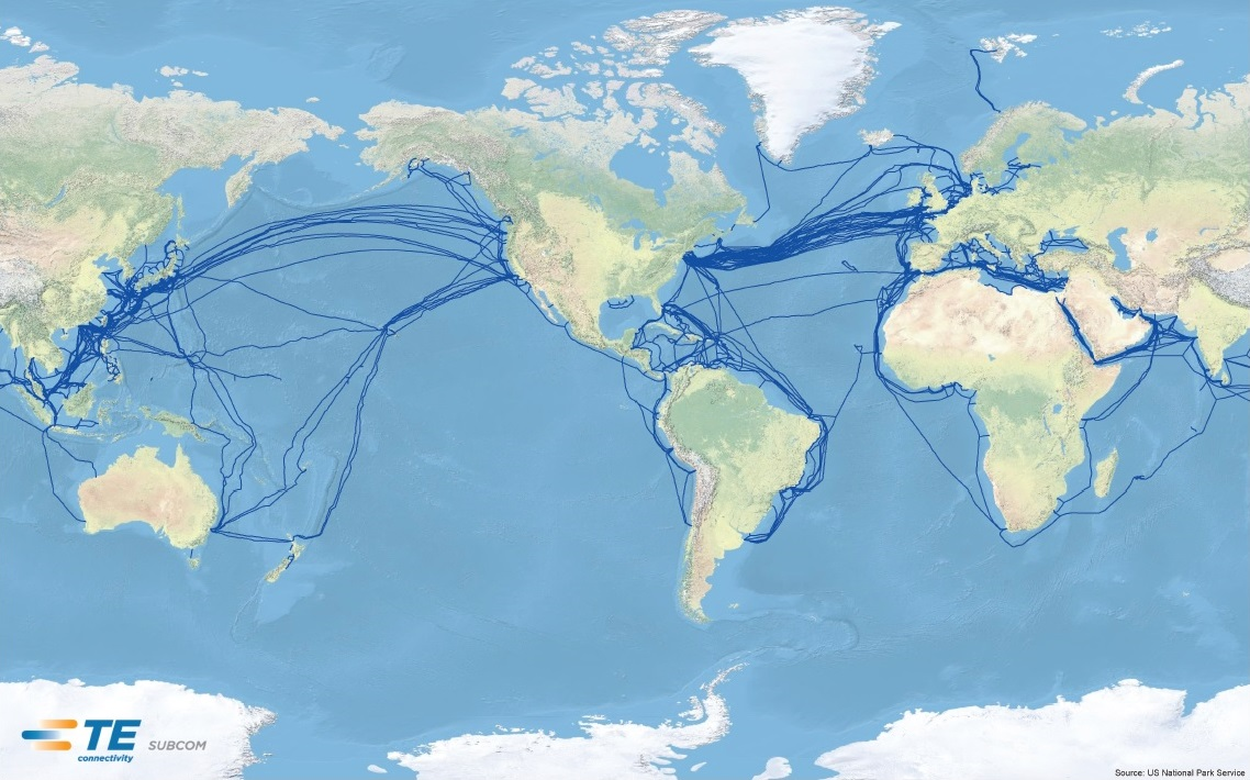 U.N. task force says new ocean telecom cables should be ... Global Fiber Optic Cable Map on global digital map, global satellite map, global magnetic map, global power map, global networking map, global renewable energy map, global wan map, global data map, global water map, global solar map, international fiber cable map, global network map, global security map,