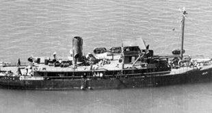 The USS Kailua, 1943.