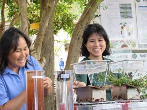 Assistant Professor Koon-Hui Wang (Plant and Environmental Protection Sciences at the 2015 Soil Health Field Day at the Waimanalo Experiment Station.