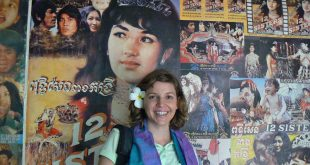 Jessica Austin in Cambodia