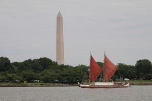 Hōkūleʻa visits Washington D.C.