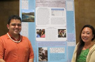 Graduate students in the Institute of Hawaiian Language Research and Translation