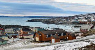 Kangirsuk, an Inuit village in northern Nunavik, Quebec, Canada