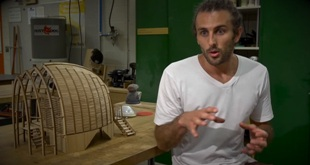 Architecture graduate Joey Valenti's repurposes the invasive Albizia into livable, sustainable homes that may help Hawaii's housing crisis.