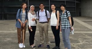 Gary Glauberman, UH Manoa Nursing faculty and PhD student, during research fellowship in Japan
